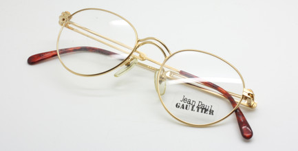 Detailed Vintage Glasses By Jean Paul Gaultier At www.theoldglassesshop.co.uk