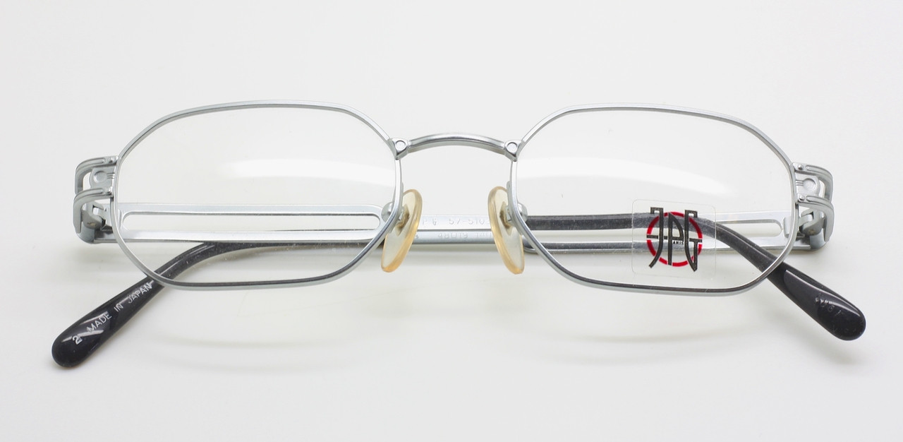 c10986ee21 Jean Paul Gaultier 57 5103 Soft Silver Hexagonal Vintage Glasses ...