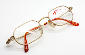 Red Back hexagonal frames from www.theoldglassesshop.co.uk