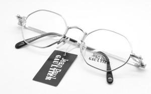 Jean Paul Gaultier 5103 silver hexagonal glasses from www.theoldglassesshop.co.uk