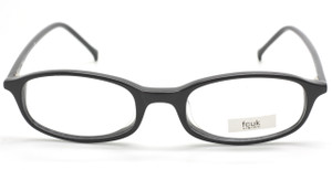 FCUK OFK16 Small Rectangular Eyewear In A Black Finish At The Old Glasses Shop