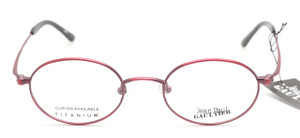 Jean Paul Gaultier 0028 Small Oval Vintage Frames At The old Glasses Shop