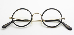 Savile Row Hand Made in London True Round glasses from www.theoldglassesshop.co.uk