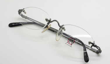 Jean Paul Gaultier 0003 oval rimless glasses from The Old Glasses Shop Ltd