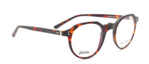 Anglo American Airlite S2 104 Vintage Style Oval Shaped Matt Tortoiseshell Colour Glasses