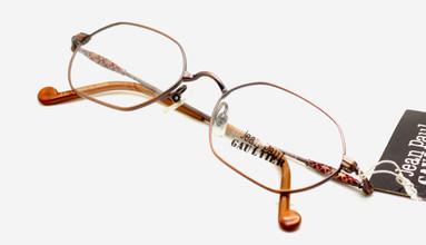 Jean Paul Gaultier 0021 bronze hexagonal glasses from www.theoldglassesshop.co.uk