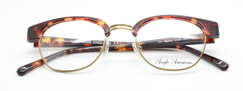 Anglo American The Agency in Tortoiseshell from www.theoldglassesshop.co.uk