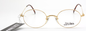 Jean Paul Gaultier  1175 Shiny Gold Oval frame from www.theoldglassesshop.co.uk
