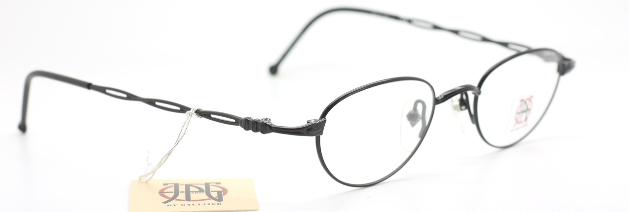 7f2a059f2bf Jean Paul Gaultier 0006 Oval Shaped Brilliant Vintage Eyeglasses In Black  Finish