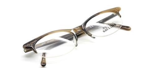 Jean Paul Gaultier 0020 in horn from www.theoldglassesshop.co.uk