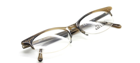 Jean Paul Gaultier 0020 in horn from www.theoldglassesshop.co.uk