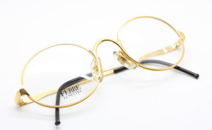 Gianfranco Ferre GFF50/N 38F gold oval glasses from www.theoldglassesshop.co.uk