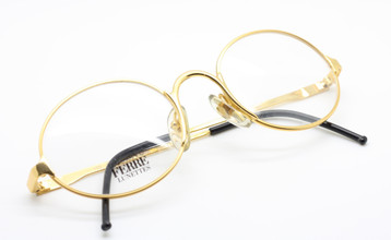 Gianfranco Ferre GFF50/N 38F gold oval glasses from www.theoldglassesshop.co.uk