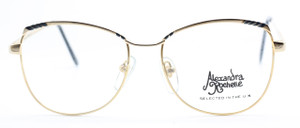 Alexandra Rochelle 8010 vintage gold glasses from The Old Glasses Shop Ltd