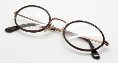 Gucci 1367 bronze and brown glasses from www.theoldglassesshop.co.uk
