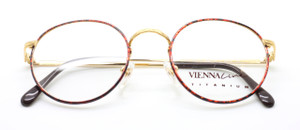 Vienna Line 1723 gold and tortoiseshell frames from www.theoldglassesshop.co.uk