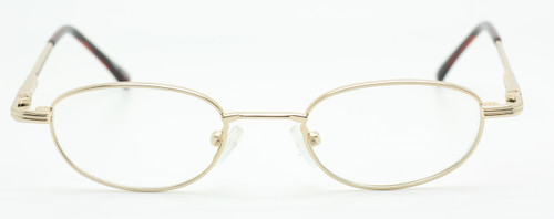 Inuit 602 Oval Vintage Glasses In A Shiny Gold Finish At www.theoldglassesshop.co.uk