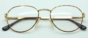 Occhiali 2248 panto glasses in turtle and gold from www.theoldglassesshop.co.uk