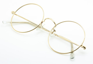 Savile Row 14kt gold filled 54mm true round eye wear from The Old Glasses Shop Ltd