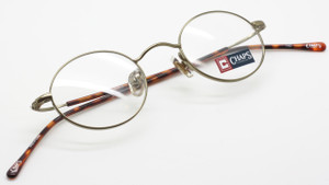 Chaps 97 01D5 antique gold small oval frame from www.theoldglassesshop.co.uk