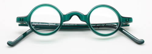 Anglo American Groucho OP22 in quirky green from www.theoldglassesshop.co.uk