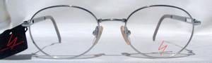 Yohji Yamamoto 5109 metallic silver classic designer frames