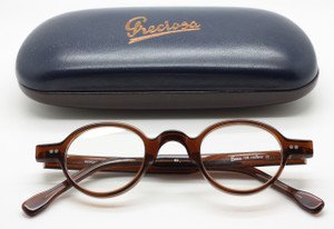 Frame Holland Preciosa 704 53 in dark brown from www.theoldglassesshop.co.uk