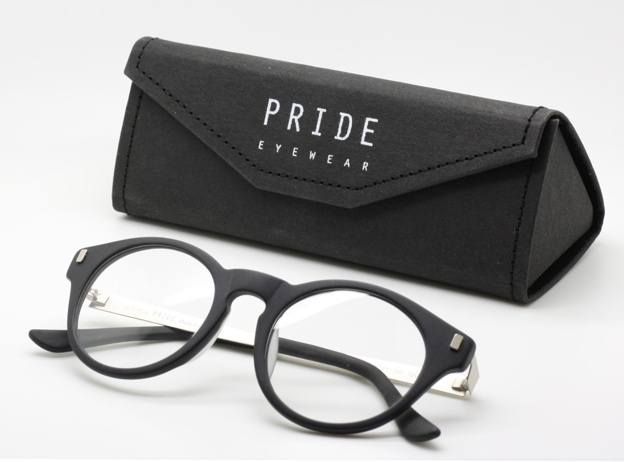 3a5b14e9886b Vintage Style Hand Made Round Italian Glasses By PRIDE Eyewear In A ...