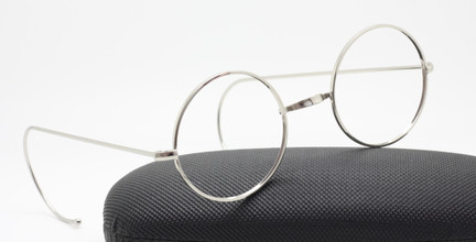 Savile Row Style Round Eyewear With Warwick Bridge And Curlsides At The Old Glasses Shop