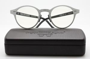 Original Vintage Sunglasses AL02 Aluminium Panto Shaped Eyewear At The Old Glasses Shop