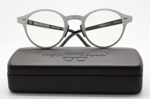 Original Vintage  AL02 Aluminium Panto Shaped Eyewear At The Old Glasses Shop