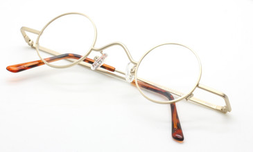 Beuren Groucho Style Matt Gold frames from www.theoldglassesshop.co.uk