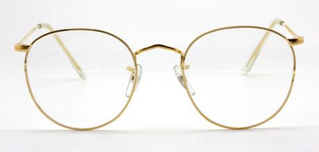 Vintage B.O.I.C. Panto Shaped Metal Rolled Gold Glassed At www.theoldglassesshop.co.uk