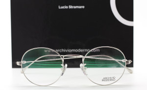 LIMITED EDITION 24kt White Gold Archivio Moderno Fine Luxury Italian Glasses By Lucio Stramare