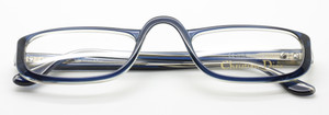 Christian Dior 2075 Blue Grey two tone glasses from www.theoldglassesshop.co.uk