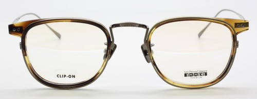 Les Pieces Uniques ULISSE col.6 in light tortoiseshell from www.theoldglassesshop.co.uk
