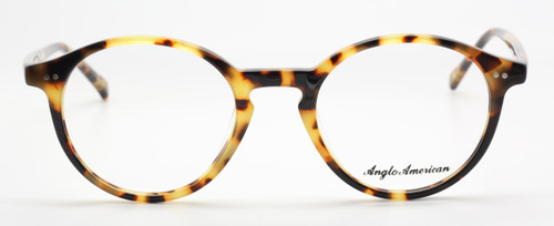 Japanese Havana Anglo American 406 Acrylic Eyeware At The Old Glasses Shop