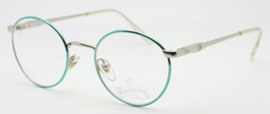 Stunning Turquoise And Silver Spectacles By Winchester At www.theoldglassesshop.co.uk