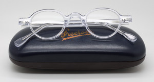 Frame Holland 704 01 Clear Acrylic Eyewear At The Old Glasses Shop