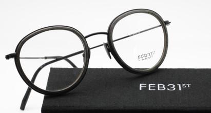 Feb31st Nico Grey and Black handmade frames from www.theoldlglassesshop.co.uk