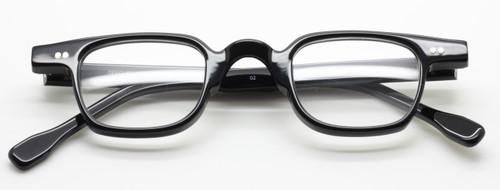 Frame Holland 705 02 black acrylic glasses from www.theoldglassesshop.co.uk