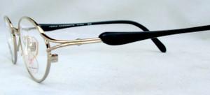 YAMAMOTO 7210 46 Silver Finish Vintage Prescription Glasses