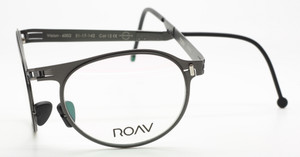 Folding Gunmetal Spectacles MALTA By ROAV Eyewear At The Old Glasses Shop