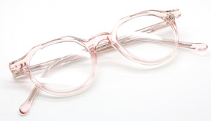 Frame Holland Preciosa 791 in Translucent Pink from www.theoldglassesshop.co.uk