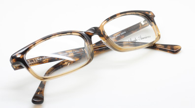 Anglo American 375 G103 Turtle and Tan Coloured Rectangular frames