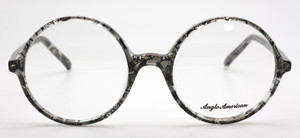 Anglo American 116 In Black & Clear Acetate At The Old Glasses Shop