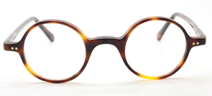 True Round Vintage Eyewear In Tortoiseshell Acrylic At The Old Glasses Shop