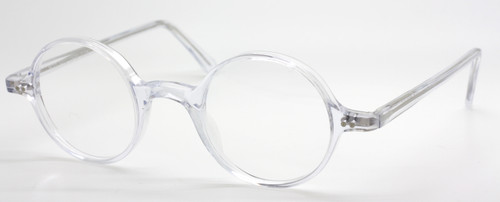 True Round Acrylic Vintage Italian Eyewear At The Old Glasses Shop