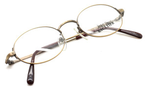 Vintage Jean Paul Gaultier 3172 in Antique Gold from www.theoldglassesshop.co.uk
