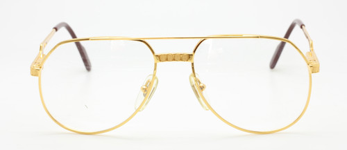 Hilton Exclusive 021 24kt Gold Plated Aviator Vintage Eyewear At The Old Glasses Shop